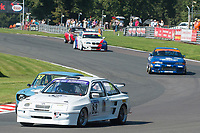 #82 Graham SAUL Ford Sierra RS500 during HSCC Dunlop Saloon Car Cup  as part of the HSCC Oulton Park Gold Cup  at Oulton Park, Little Budworth, Cheshire, United Kingdom. August 25 2019. World Copyright Peter Taylor/PSP. Copy of publication required for printed pictures.