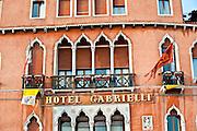 The facade of Hotel Gabrielli in Venice, Italy. (Sam Lucero photo)
