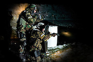 York County Quick Response Team.©John A. Pavoncello/Pho-Tac.com.November 21, 2008.Night shooting on range