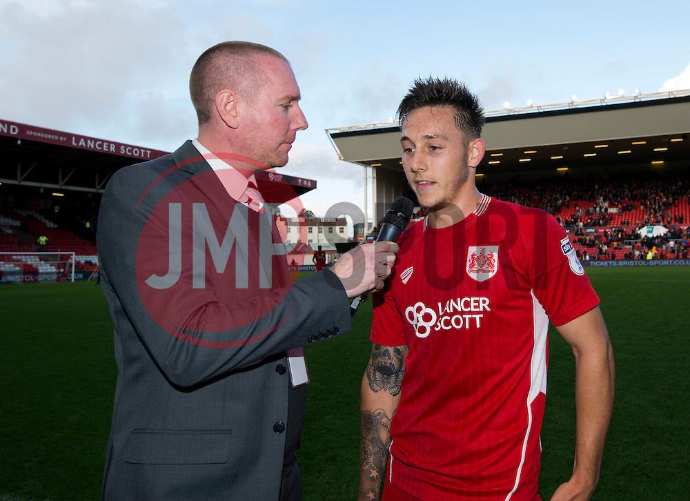 Josh Brownhill of Bristol City man of the match  - Mandatory by-line: Joe Meredith/JMP - 01/10/2016 - FOOTBALL - Ashton Gate Stadium - Bristol, England - Bristol City v Nottingham Forest - Sky Bet Championship