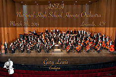 National High School Honors Orchestra Concert, March 7, 2014