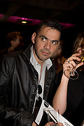 ROLAND MOURET, The private view of exhibition 'The House of Viktor & Rolf', at The Barbican Gallery.  London.  June 17 2008. *** Local Caption *** -DO NOT ARCHIVE-© Copyright Photograph by Dafydd Jones. 248 Clapham Rd. London SW9 0PZ. Tel 0207 820 0771. www.dafjones.com.