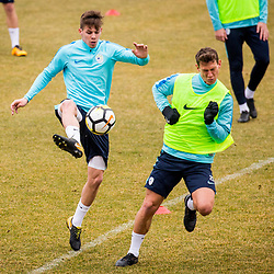 20180326: SLO, Football - Press conference and official training of Slovenian national football team