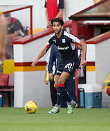 Dundee&rsquo;s Faissal El Bakhtaoui - Motherwell v Dundee in the Ladbrokes Scottish Premiership at Fir Park, Motherwell. Photo: David Young<br /> <br />  - &copy; David Young - www.davidyoungphoto.co.uk - email: davidyoungphoto@gmail.com