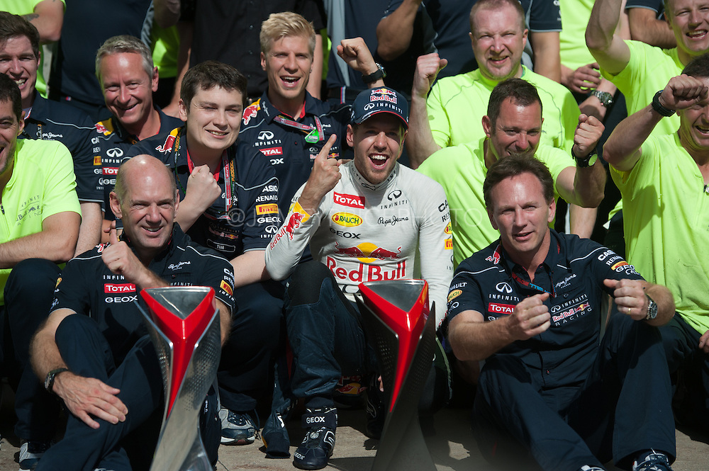 June 7-9, 2013 : Canadian Grand Prix. Sebastian Vettel, Red Bull/Renault