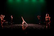 Dance Wisconsin members perform during their dress rehearsal of New Works at Mitby Theater at Madison Area Technical College in Madison, Wisconsin on October 6, 2016. <br /> <br /> www.bethskogen.com