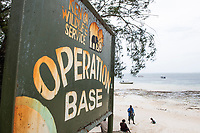 Kenyan Wildlife Services Operations Base for the Mombasa Marine Protected Area, Kenya