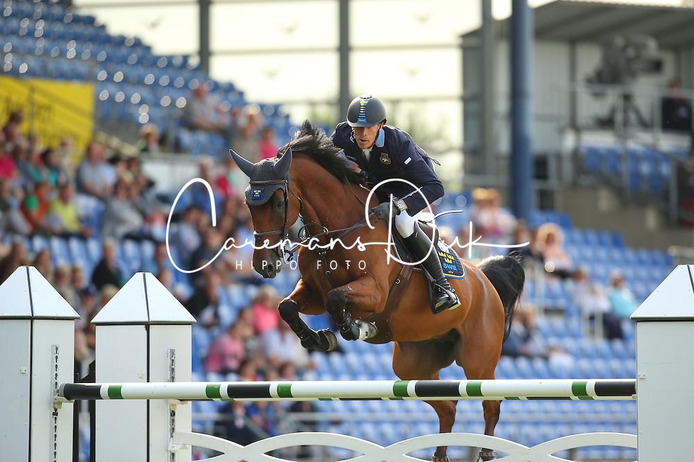 Von Eckermann Henrik, (SWE), Cantinero<br /> Team Competition round 1 and Individual Competition round 1<br /> FEI European Championships - Aachen 2015<br /> &copy; Hippo Foto - Stefan Lafrentz<br /> 19/08/15