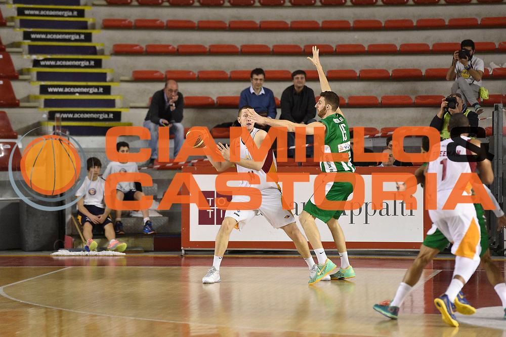 DESCRIZIONE : Roma Lega A 2014-15 <br /> Acea Virtus Roma - Sidigas Avellino <br /> GIOCATORE : Maxime De Zeeuw<br /> CATEGORIA : controcampo <br /> SQUADRA : Acea Virtus Roma<br /> EVENTO : Campionato Lega A 2014-2015 <br /> GARA : Acea Virtus Roma - Sidigas Avellino<br /> DATA : 04/04/2015<br /> SPORT : Pallacanestro <br /> AUTORE : Agenzia Ciamillo-Castoria/GiulioCiamillo<br /> Galleria : Lega Basket A 2014-2015  <br /> Fotonotizia : Roma Lega A 2014-15 Acea Virtus Roma - Sidigas Avellino