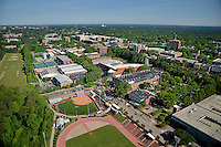 Aerial of Central Campus looking northwest.