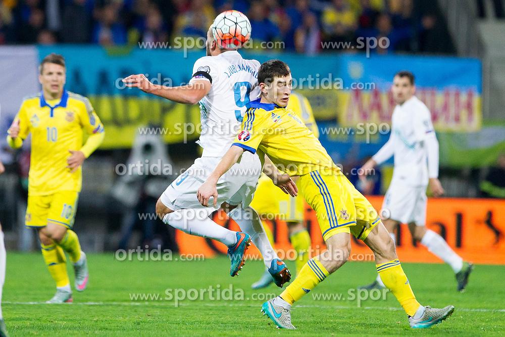 Zlatan Ljubljankic (SLO) during the UEFA EURO 2016 Play-off for Final Tournament, Second leg between Slovenia and Ukraine, on November 17, 2015 in Stadium Ljudski vrt, Maribor, Slovenia. Photo by Urban Urbanc / Sportida