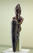 Kneeling with God Stake Bronze ca 2144-2124 BC.