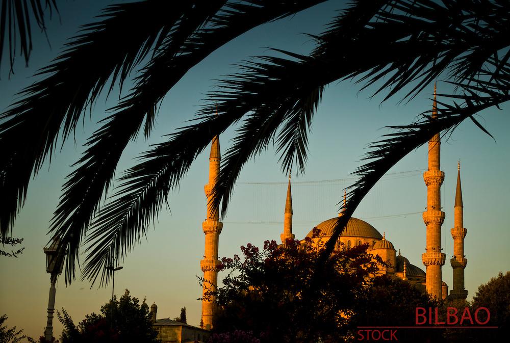 Blue Mosque.<br /> Istanbul, Turkey.