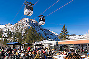 Gondola at the village, Squaw Valley, California
