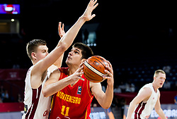 Marko Todorovic of Montenegro during basketball match between National Teams of Latvia and Montenegro at Day 11 in Round of 16 of the FIBA EuroBasket 2017 at Sinan Erdem Dome in Istanbul, Turkey on September 10, 2017. Photo by Vid Ponikvar / Sportida