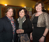 Mary Clare Leenane , Bell Harbour and Dorothy O&rsquo;Grady Tubber and Annie Nolan Kinvara  at the Cookery demonstration with Chef Neven Maguire and Artisan Food Fair in aid of Seamount College  at the Lady Gregory Hotel Gort, Co. Galway.<br /> Photo:Andrew Downes, xposure.