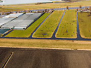 Nederland, Zuid-Holland, Gemeente Aalsmeer, 20-02-2012; kassen en weilanden ten zuiden van Kudelstaart.Greenhouses and meadows. Land division..luchtfoto (toeslag), aerial photo (additional fee required);.copyright foto/photo Siebe Swart.