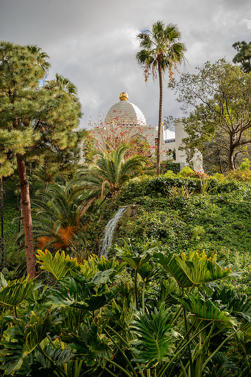 Self-Realization Fellowship Lake Shrine Temple, Sunset Blvd., Pacific Palisades, CA