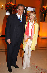 RICHARD & BASIA BRIGGS at the 2005 Clicquot Award - Business Woman of The Year award ceremony held at Claridge's, Brook Street, London W1 on 28th April 2005.