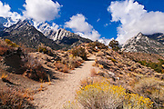 The Whitney Portal National Recreation Trail, Inyo National Forest, California USA