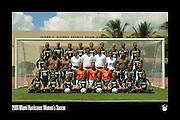 2001 Miami Hurricanes Women's Soccer Team Photo