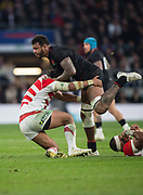 Twickenham, United Kingdom, Saturday, 17th  November 2018, RFU, Rugby, Stadium, England,  Courtney LAWES, during the  Quilter Autumn International, England vs Japan, © Peter Spurrier