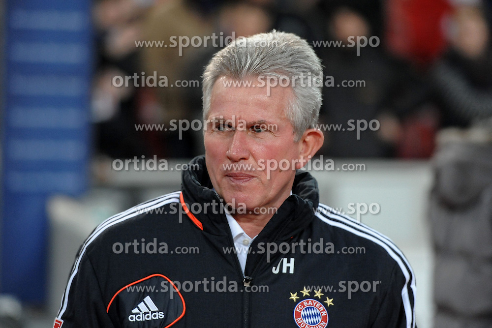 27.01.2013, Mercedes Benz Arena, Stuttgart, GER, 1. FBL, VfB Stuttgart vs FC Bayern Muenchen, 19. Runde, im Bild Trainer Jupp HEYNCKES (FC Bayern Muenchen) vor dem Spiel // during the German Bundesliga 19th round match between VfB Stuttgart and FC Bayern Munich at the Mercedes Benz Arena, Stuttgart, Germany on 2013/01/27,, , , , . EXPA Pictures © 2013, PhotoCredit: EXPA/ Eibner/ Wolfgang Stuetzle..***** ATTENTION - OUT OF GER *****