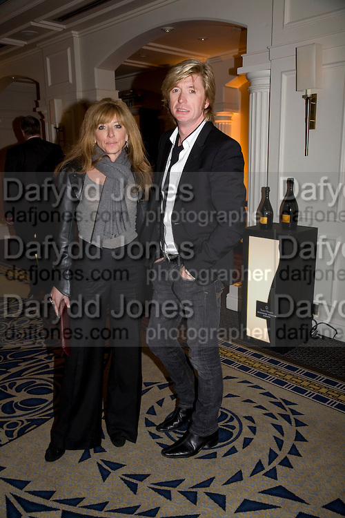 KELLY HOPPEN AND NICKY CLARKE, Veuve Cliquot Business Woman Award. Berkeley Hotel 8 April 2008.  *** Local Caption *** -DO NOT ARCHIVE-© Copyright Photograph by Dafydd Jones. 248 Clapham Rd. London SW9 0PZ. Tel 0207 820 0771. www.dafjones.com.