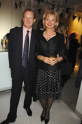 The EARL & COUNTESS OF DERBY at a party to launch jeweller Boodles new store at 178 New Bond Street, London W1 on 26th September 2007.<br />