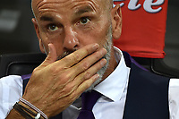 Stefano Pioli allenatore Fiorentina <br /> Milano 20-08-2017 Stadio Giuseppe Meazza <br /> Calcio Serie A Inter - Fiorentina Foto Andrea Staccioli Insidefoto
