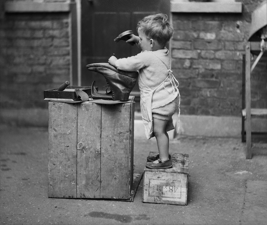 The Amateur Cobbler, England, 1932