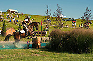 Eventing (equestrian triathlon), Cross Country event, The Event at Rebecca Farms, Kalispell, Montana, Hank Rothwell, Cleveland Bay
