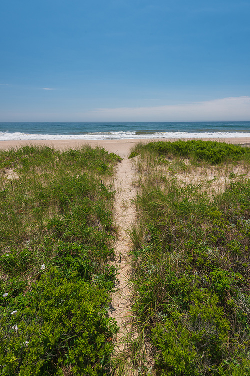 Path to Beach, Atlantic Coast, Water MIll, NY