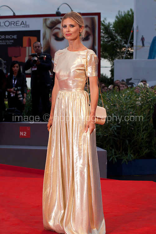Laura Bailey at the gala screening for the film The Danish Girl  at the 72nd Venice Film Festival, Saturday September 5th 2015, Venice Lido, Italy.