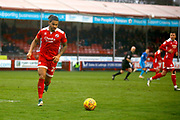 Crawley Town defender Josh Lelan (22) during the EFL Sky Bet League 2 match between Crawley Town and Grimsby Town FC at the Checkatrade.com Stadium, Crawley, England on 10 February 2018. Picture by Andy Walter.