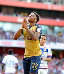 Chuba Akpom of Arsenal   - Mandatory by-line: Joe Meredith/JMP - 25/07/2015 - SPORT - FOOTBALL - London,England - Emirates Stadium - Arsenal v Lyon - Emirates Cup