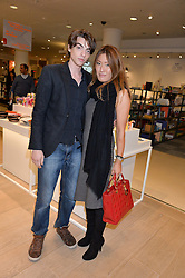 SASCHA BAILEY and MIMI NISHIKAWA at the launch of the Conran Shop at Selfridge's, Oxford Street, London on 22nd September 2015.