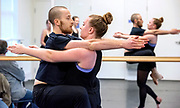 Photo by Mara Lavitt<br /> April 10, 2019<br /> Yale Rehearsal Studio, 294 Broadway,  New Haven.<br /> <br /> Yale Dance Theater in rehearsal for their spring dance project in coordination with the Bill T. Jones/Arnie Zane Dance Company, taught by Catherine Cabeen.