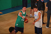 DESCRIZIONE : Bormio Raduno Collegiale Nazionale Maschile Preparazione Fisica <br /> GIOCATORE : Matteo Soragna Andrea Michelori <br /> SQUADRA : Nazionale Italia Uomini <br /> EVENTO : Raduno Collegiale Nazionale Maschile <br /> GARA : <br /> DATA : 19/07/2008 <br /> CATEGORIA : Riscaldamento <br /> SPORT : Pallacanestro <br /> AUTORE : Agenzia Ciamillo-Castoria/S.Silvestri <br /> Galleria : Fip Nazionali 2008 <br /> Fotonotizia : Bormio Raduno Collegiale Nazionale Maschile Preparazione Fisica <br /> Predefinita :