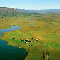 Útey séð til austurs, Bláskógabyggð áður Laugardalshreppur / Utey at Laugarvatn viewing east, Blaskogabyggd former Laugardalshreppur.