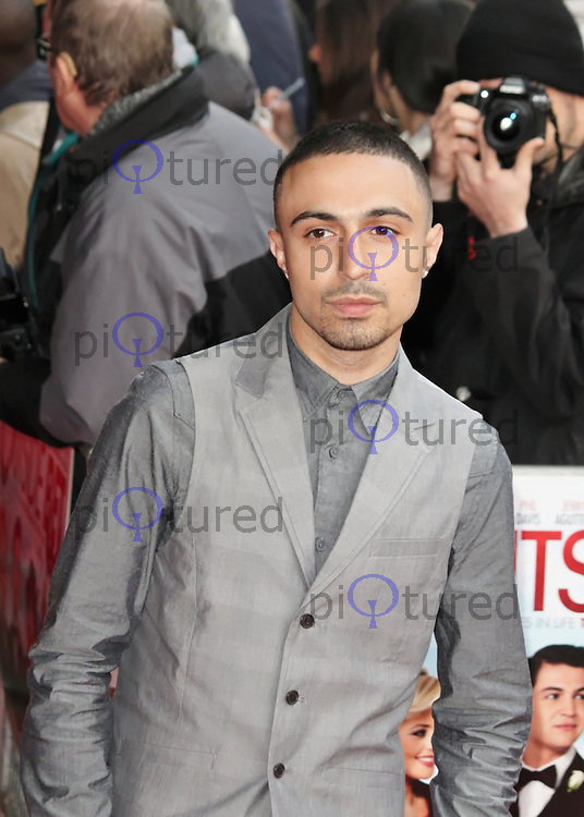 LONDON - APRIL 24: Adam Deacon attends the Outside Bet UK Premiere at Cineworld Haymarket, London, UK. April 24, 2012. (Photo by Brett D. Cove)