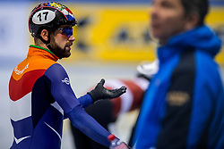 14-01-2018 DUI: ISU European Short Track Championships 2018 day 3, Dresden<br /> Daan Breeuwsma NED #17