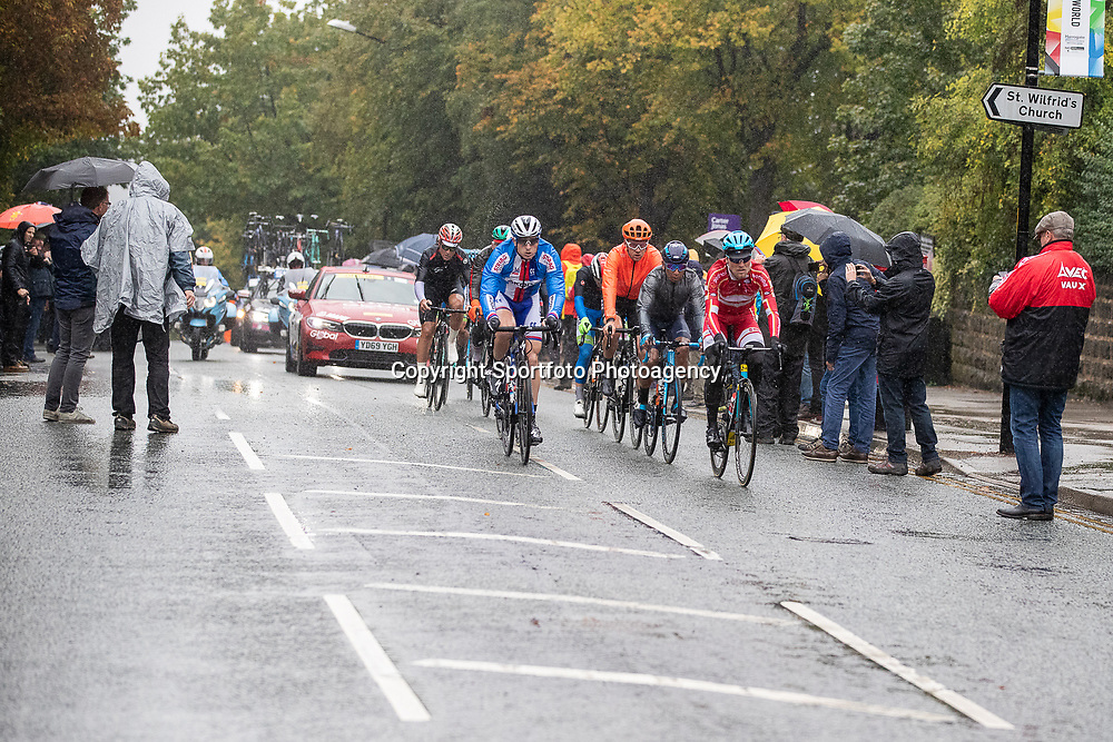 28-09-2019: WK wielrennen: Weg Elite: Yorkshire<br /> Wet conditions at the World Championships Cycling in Harrogate