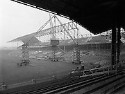 Section of New Stand at Croke Park for Belfast Telegraph (New Hogan Stand)<br /> 21/01/1959