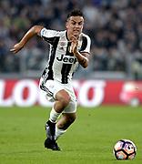 © Filippo Alfero<br /> Juventus-Chievo, Serie A 2016/2017<br /> Torino, 08/04/2017<br /> sport calcio<br /> Nella foto: Paulo Dybala Juventus