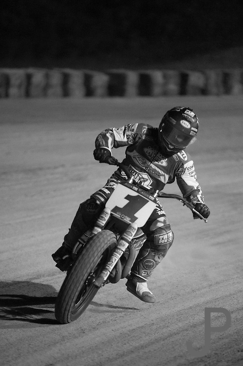 Oklahoma City Grand National Flat Track Motorcycle Races at Remington Park Racetrack