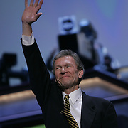 Democratic National Convention.Boston, MA.07/27/2004.Senate Minority Leader Tom Daschle (D-SD)..Photo by Khue Bui.