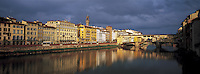 Italie, Toscane, Florence. Rivière Arno. // Arno river - Florence - Tuscany - Italy
