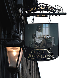 The Sir Arthur Conan Doyle pub has been temporarily renamed The J. K. Rowling as part of a visual art installation between writer Val McDermid, theatre director Philip Howard and Double Take Projections.<br /><br />It is designed to highlight spots around Edinburgh that inspired some of the city&rsquo;s most famous authors.<br /><br /><br />Alex Todd | EEm