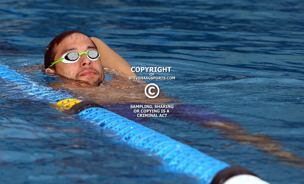 Durban South Africa - December 20, Chad Le Clos SGUL-ETI KZNA-KZ Men 200 LC Meter Freestyle during the 2015 KZN Premier Championships.<br /> KINGS PARK POOL COMPLEX &ndash; MASABALALA YENGWA AVE -DURBAN,December  (Photo by Steve Haag)images for social media must have consent from Steve Haag